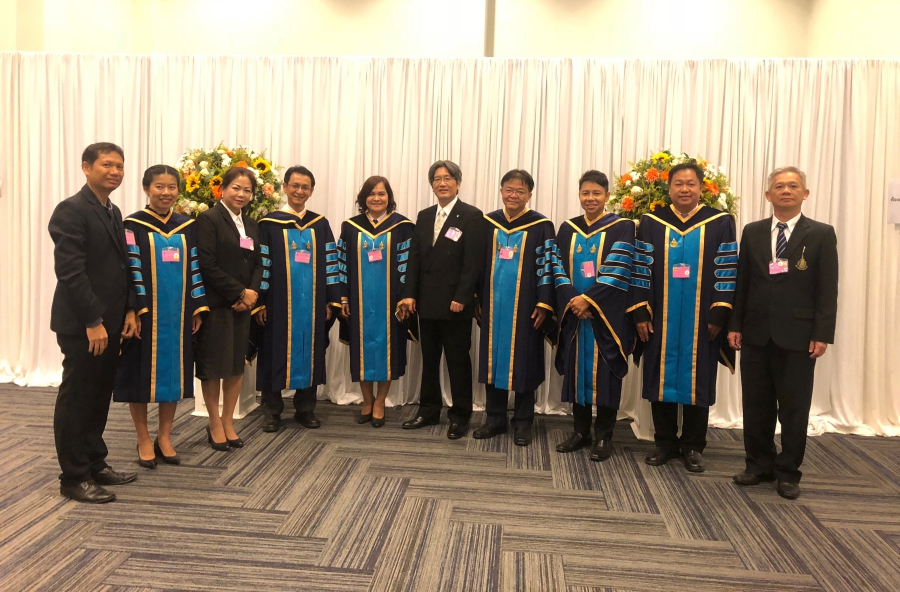 HRH Princess Chulabhorn Honors the PSU 2018 Convocation Ceremony