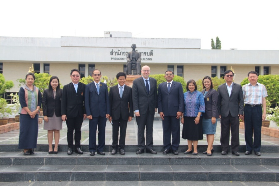 Delegates from University of California, Los Angeles visit PSU Hat Yai Campus