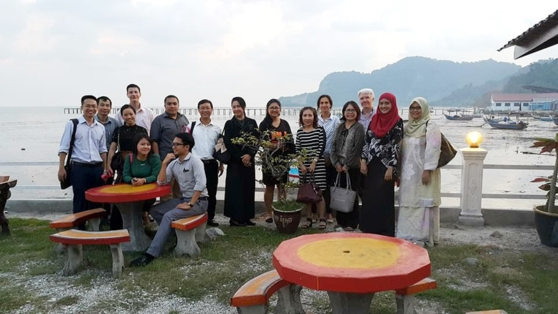 "2nd Training Module: International Cooperation Agreements and Networks under Erasmus+ ""MARCO POLO"" Project in Penang, Malaysia"