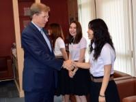 US Chargé D'affaires Visits PSU