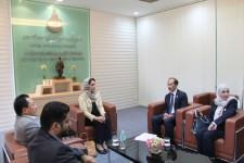 Her Highness the Princess of Oman Graciously visits PSU