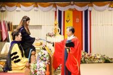 HRH Princess Chulabhorn Honors the PSU 2014 Convocation Ceremony