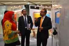 PSU and US Embassy Opened the 20/20 Nature Nurture Art Exhibition