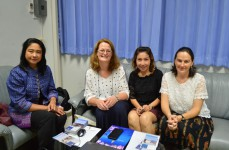 Erasmus Coordinator from Osnabruck University of Applied Sciences visits PSU