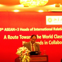 PSU joins the 5th ASEAN+3 Heads of International Relations Meeting