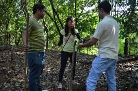 PSU International Students join Plant Trees Activity