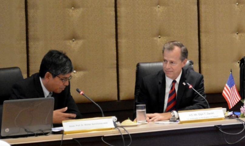 Ambassador of the USA to Thailand visits PSU