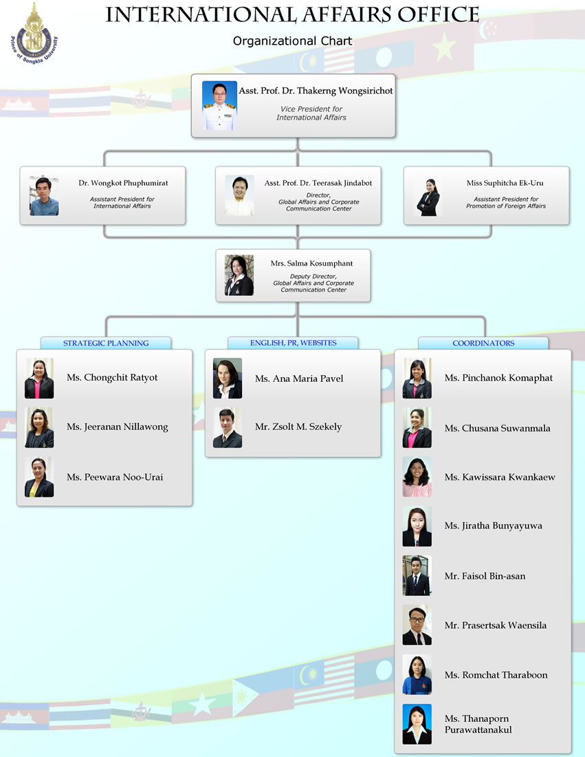 PSU International Affairs Organizational Chart thumbnail